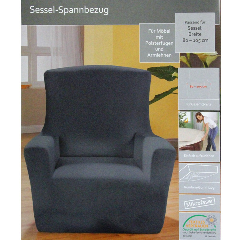sessel sofa spannbezug sesselbezug sofabezug berzug sitzbezug berwurf 0378 ebay. Black Bedroom Furniture Sets. Home Design Ideas
