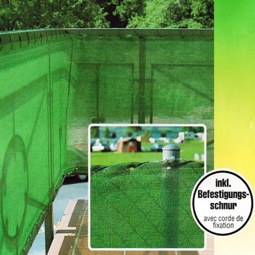 windschutz sichtschutz zaunblende tennisblende gartenzaun schattiernetz zaun ebay. Black Bedroom Furniture Sets. Home Design Ideas
