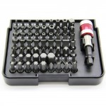 Bit Set 64 tlg inkl. Magnethalter Bit Box Bits Torx PH PZ Meister 3387710