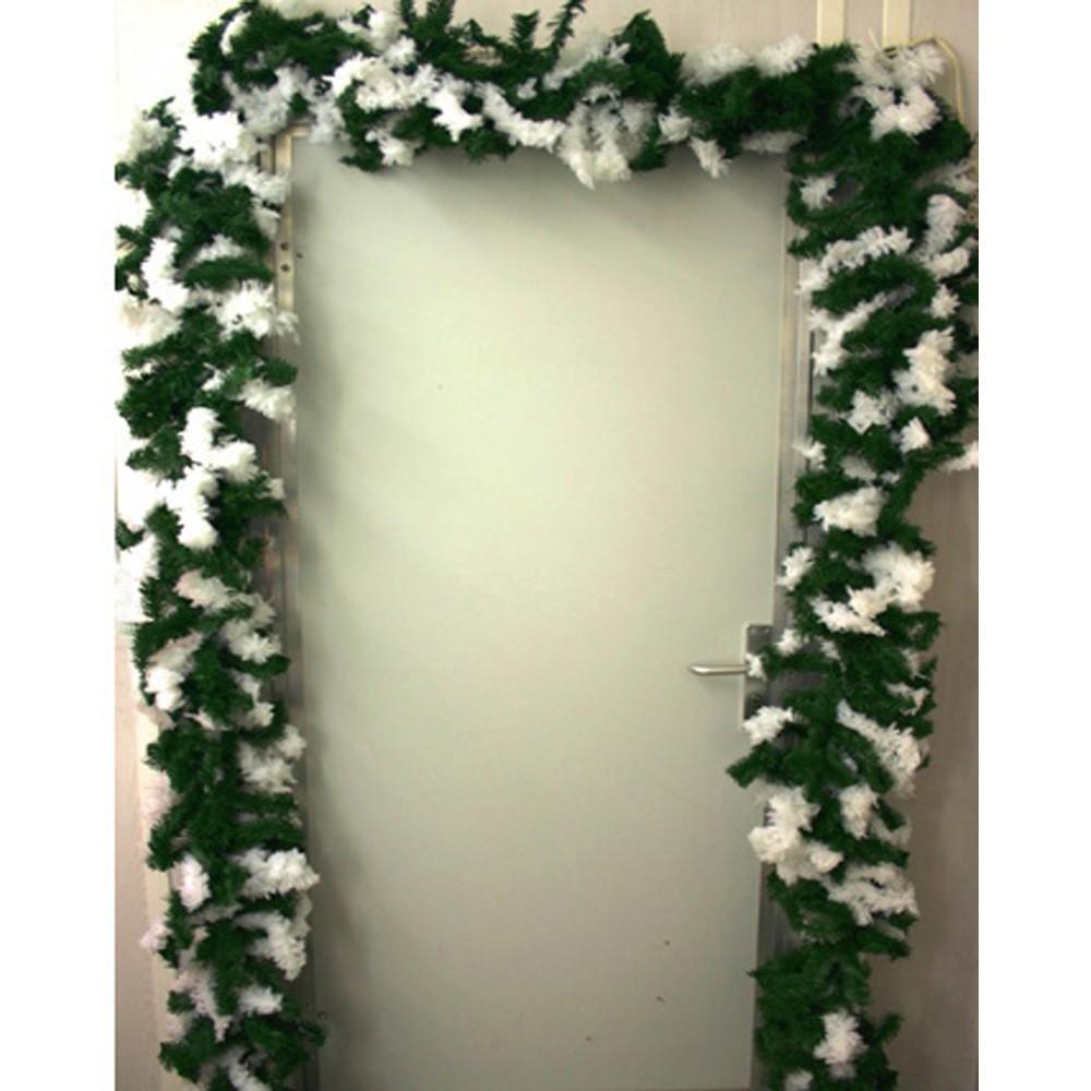 weihnachts girlande ranke raureif weihnachtsschmuck weinachtsdekoweihnachten ebay. Black Bedroom Furniture Sets. Home Design Ideas