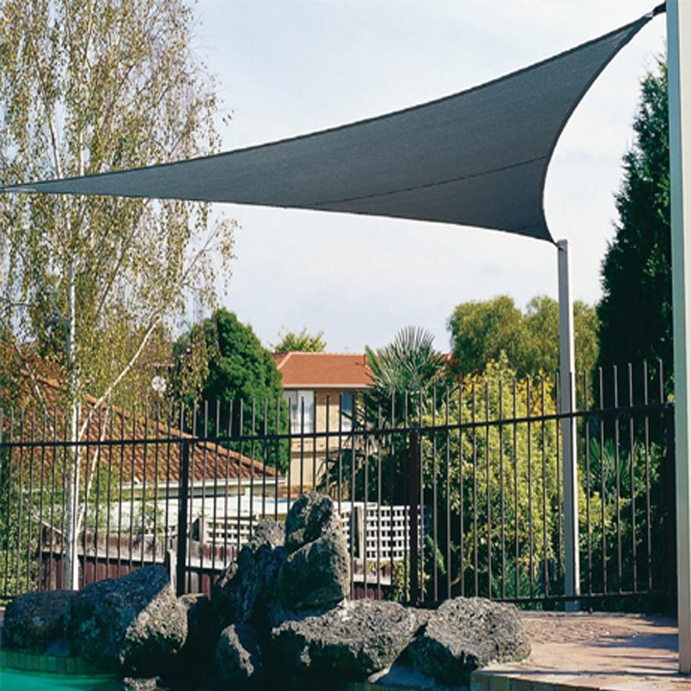 sonnensegel coolaroo premium quadrat dreieck 3 60x3 60x3. Black Bedroom Furniture Sets. Home Design Ideas